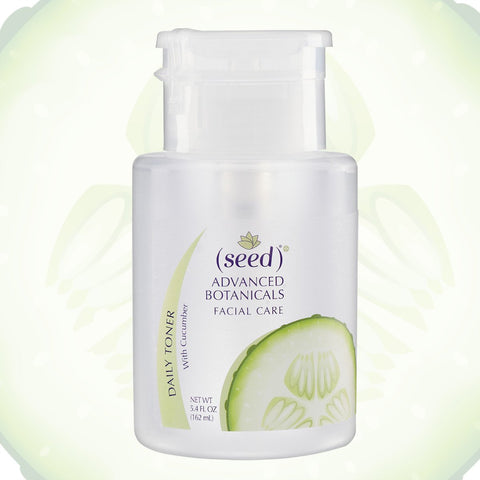 Seed cucumber toner is ideal for sensitive skin