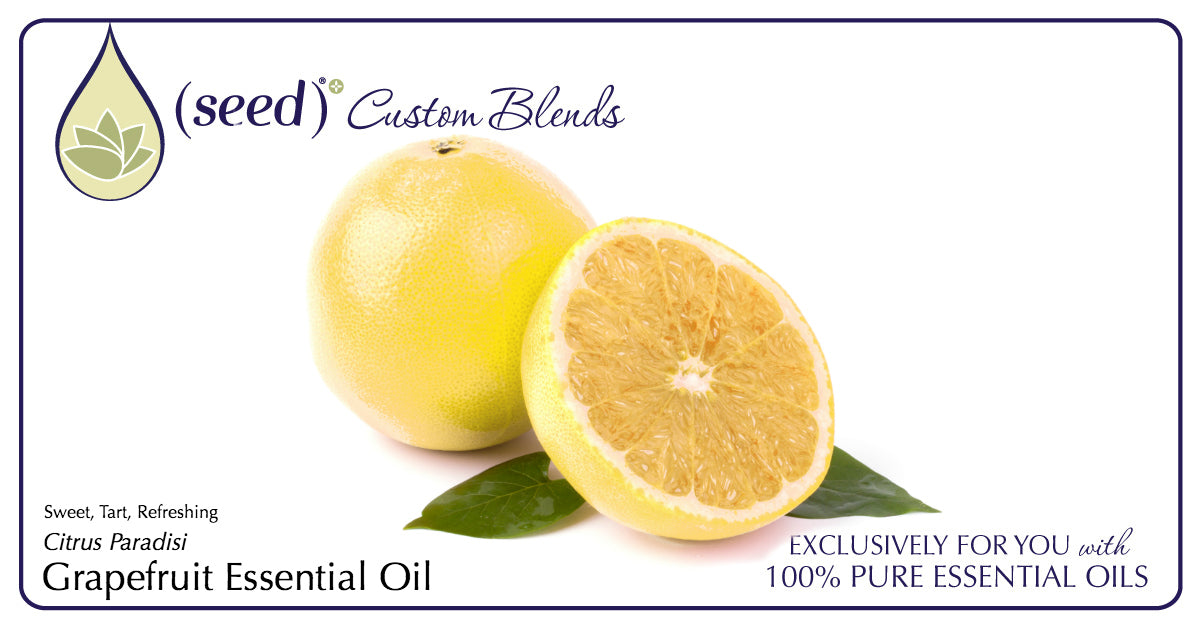 Seed Custom & Beneficial Blend Body Care offers Grapefruit Essential OIl