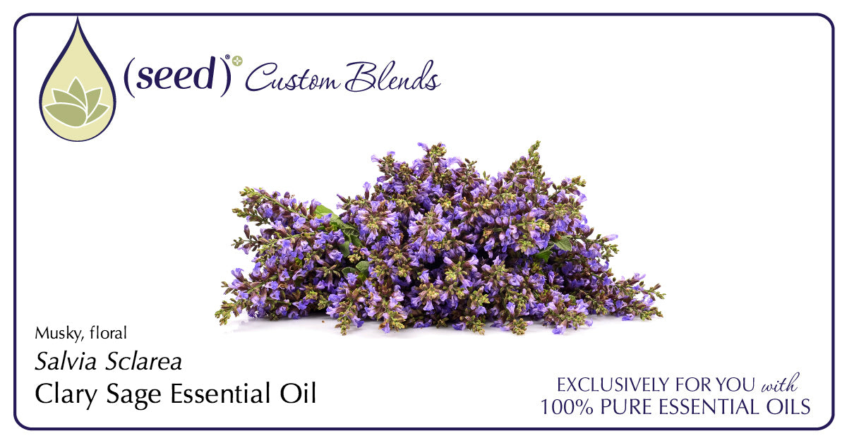 Seed Custom Blends offer Clary Sage Essential Oil