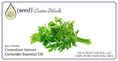 Seed Body Care features Coriander Essential Oil