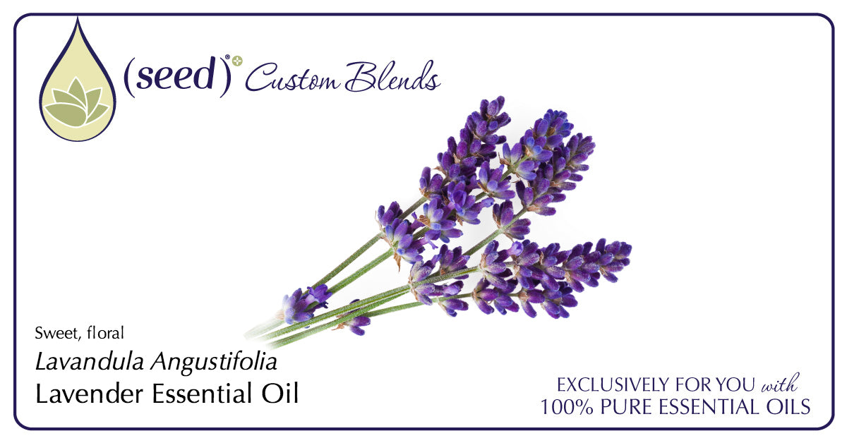 Seed Custom Blends offer Lavender Essential Oil