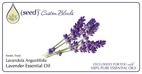 Seed Body Care features Lavender Essential Oil