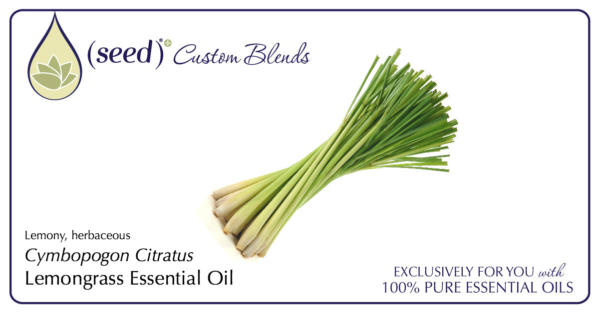 Seed Custom Blends offer Lemongrass Essential Oil