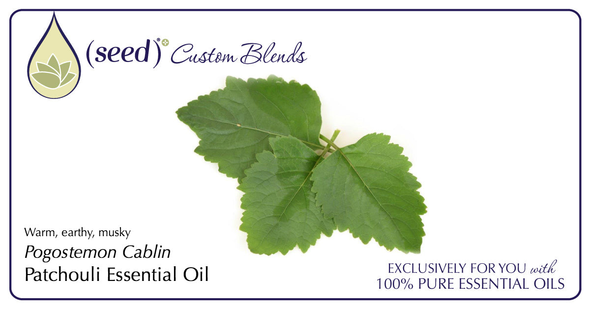 Seed Custom Blends offer Patchouli Essential Oil