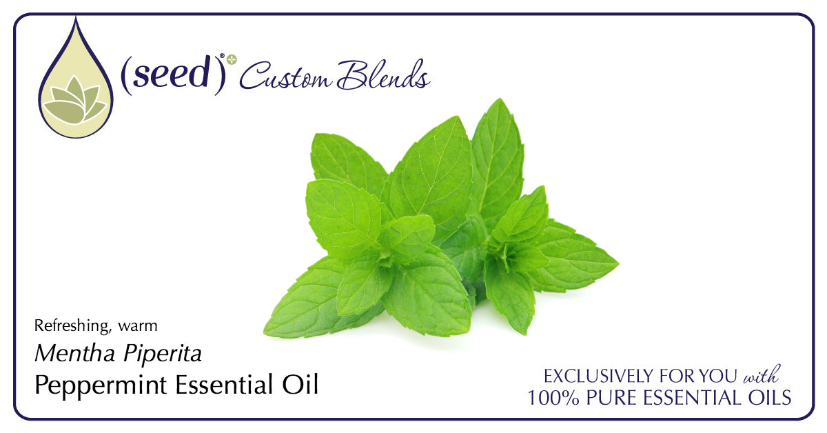 Seed Custom Blends offer Peppermint Essential Oil