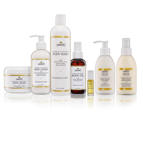 seed offers the best in natural fragrance free skincare