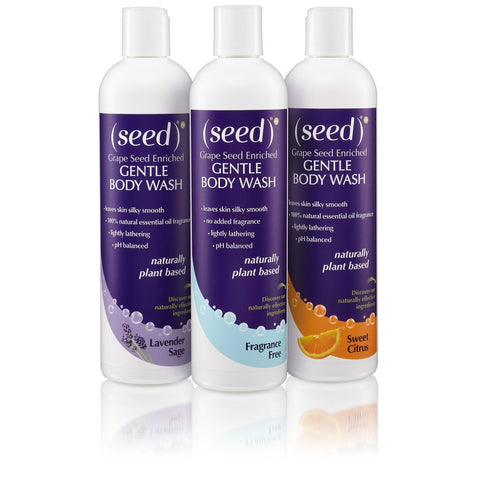 Seed sulfate free shower gel