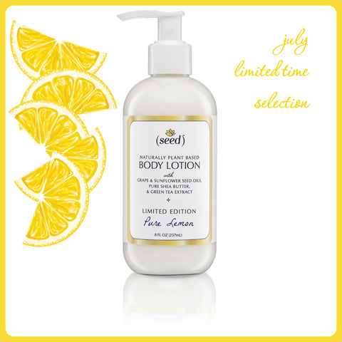 seed lemon body lotion for soft healthy and beautiful skin naturally