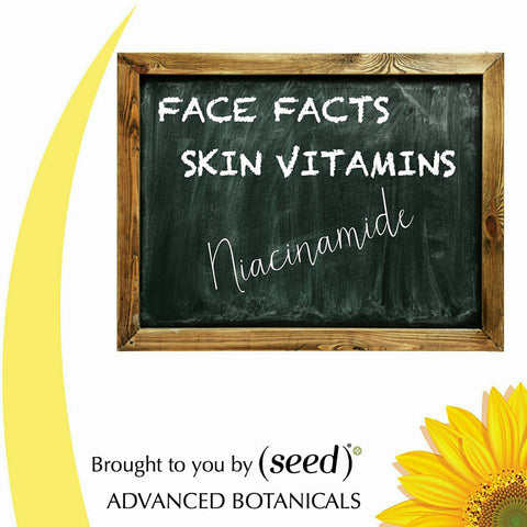 Seed shares the skin benefits of niacinamide