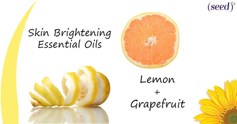 Brighten your skin with Seed Advanced Botanicals with Lemon and Grapefruit