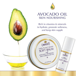 New Seed Soft Balm features Avocado Oil