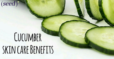 The Skin Care Benefits Of Cucumber Seed Face Body Care