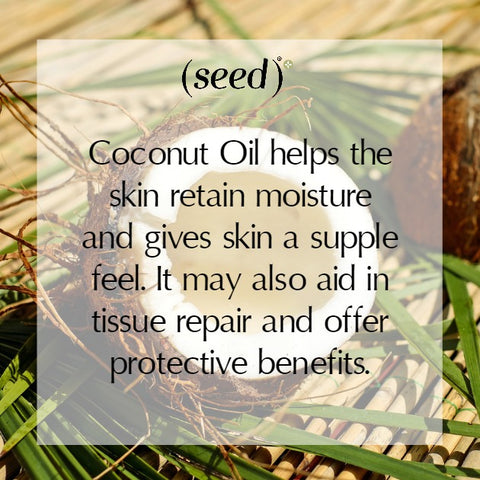 Seed shares the many skin and beauty benefits of natural coconut oil