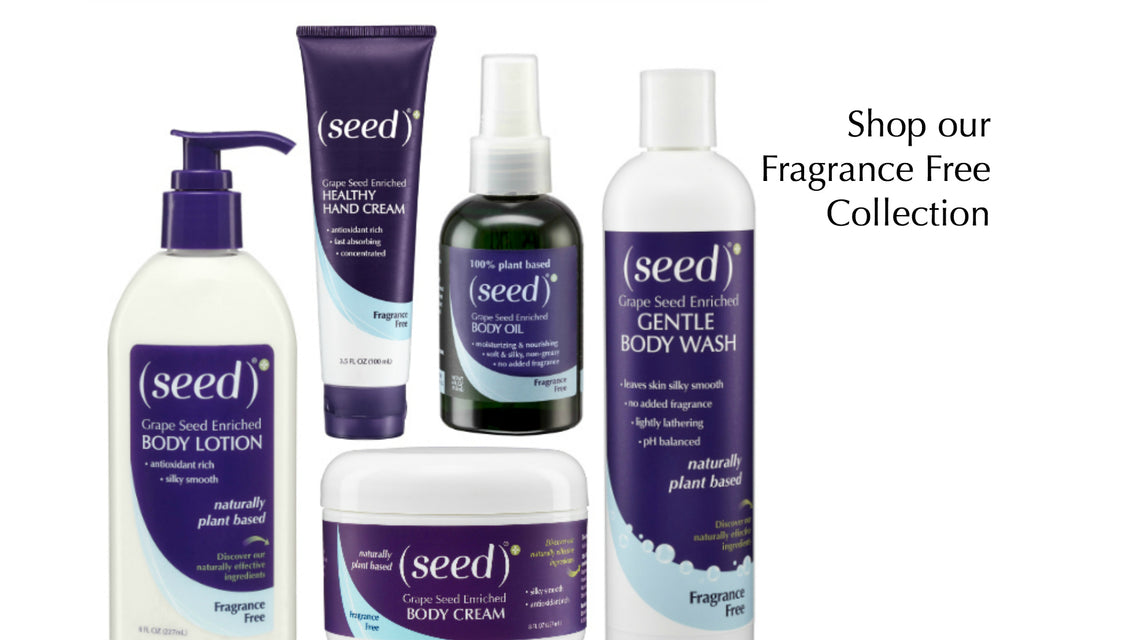 Seed Fragrance Free Body Lotion, Wash, Hand Cream, Oil and more