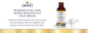 New Seed Advanced Botanicals Aging Beautifully Face Serum Oil