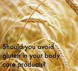 Seed Body Care Blog - Gluten Free Skincare