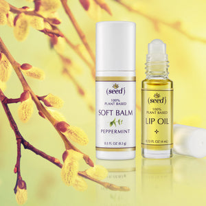 Seed offers a Soft Balm and Lip Oils for healthy soft lips
