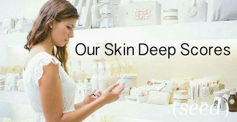 Seed is a Skin Deep safe skincare brand