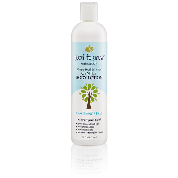 Good to Grow by Seed Fragrance Free Body Lotion for Babies and Kids