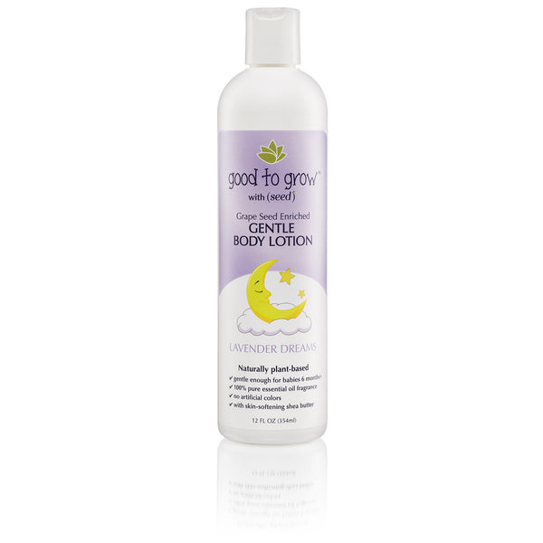 Good to Grow by Seed Lavender Dreams Body Lotion for Babies and Kids