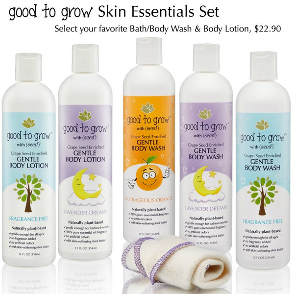 Good to Grow by Seed Body Care Line for Babies and Kids