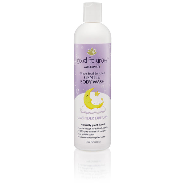 Good to Grow Lavender Dreams Baby Kids Bath Body Wash 12 oz