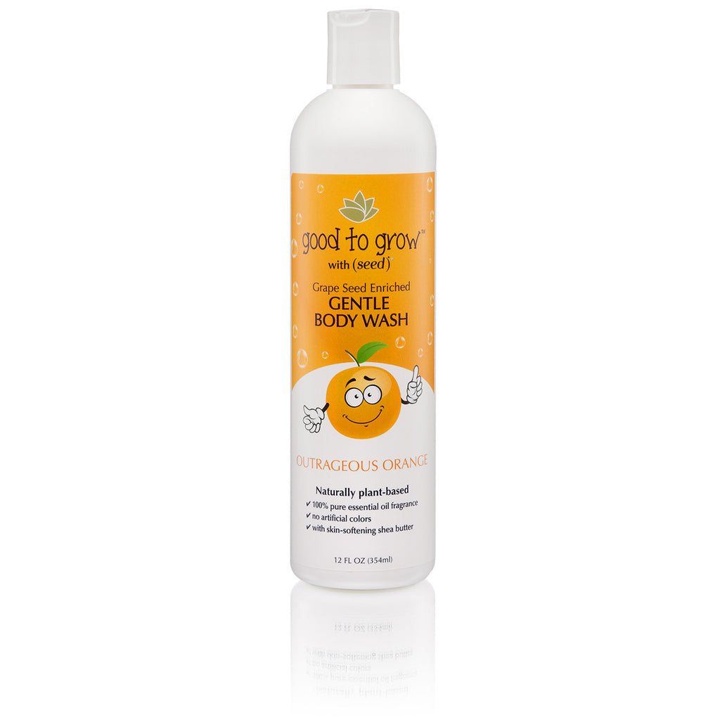 Good to Grow Gentle Body Wash Outrageous Orange