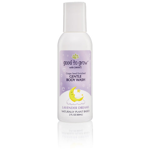 Good to Grow Lavender Dreams Body Wash, 2 oz Trial/Travel