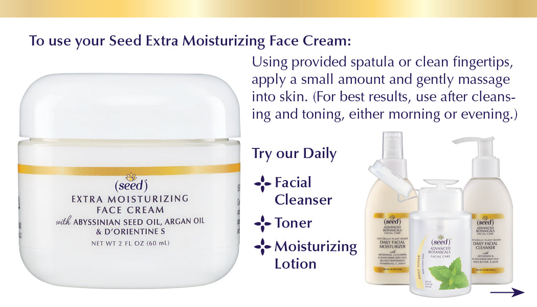Seed Advanced Botanicals Facial Set