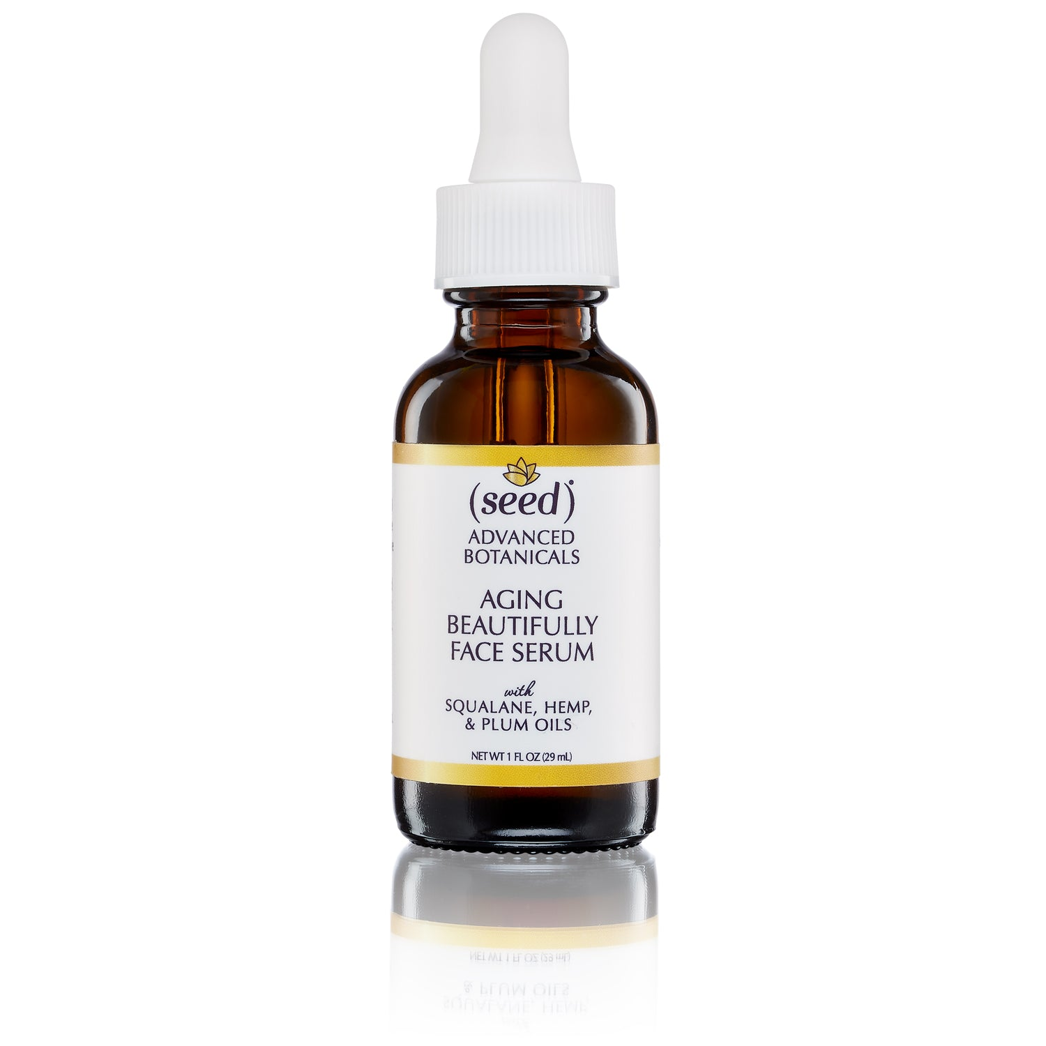 Seed Advanced Botanicals Aging Beautifully Face Serum