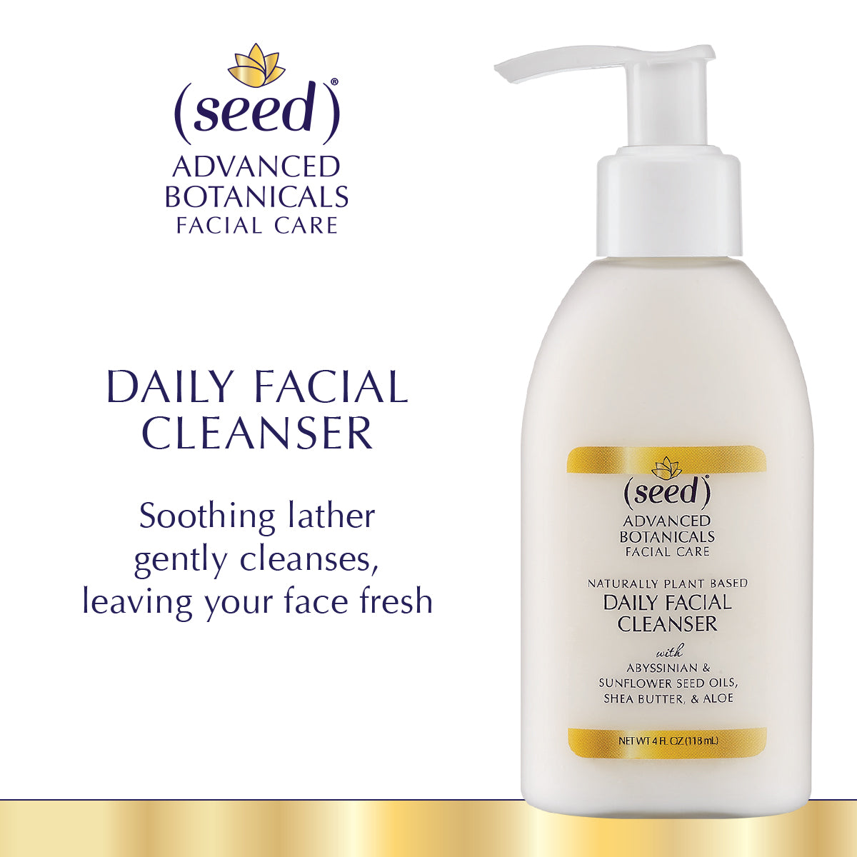 Seed Advanced Botanicals Face Wash Cleanser Benefits