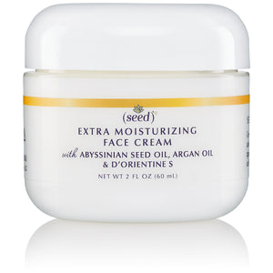 Seed Advanced Botanicals Extra Moisturizing Face Cream with Abyssinian, Argan Oils and D'Orientine S