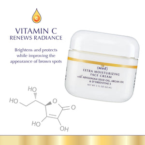 Seed Advanced Botanicals Extra Moisturizing Face Cream features Vitamin C