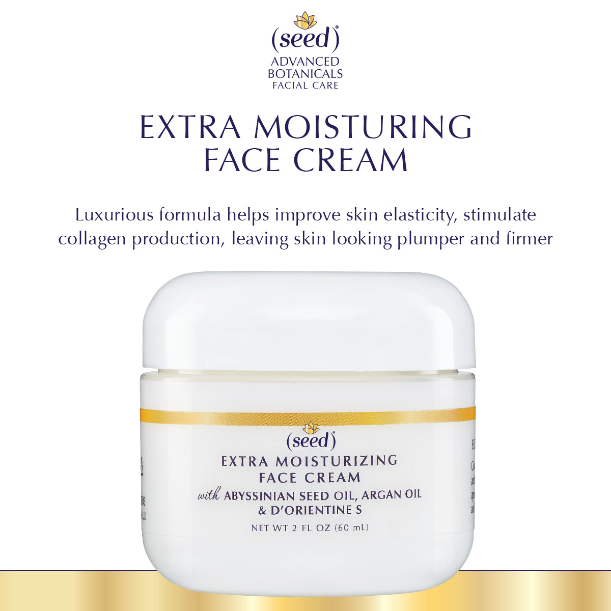 Seed Advanced Botanicals Extra Moisturizing Face Cream benefits