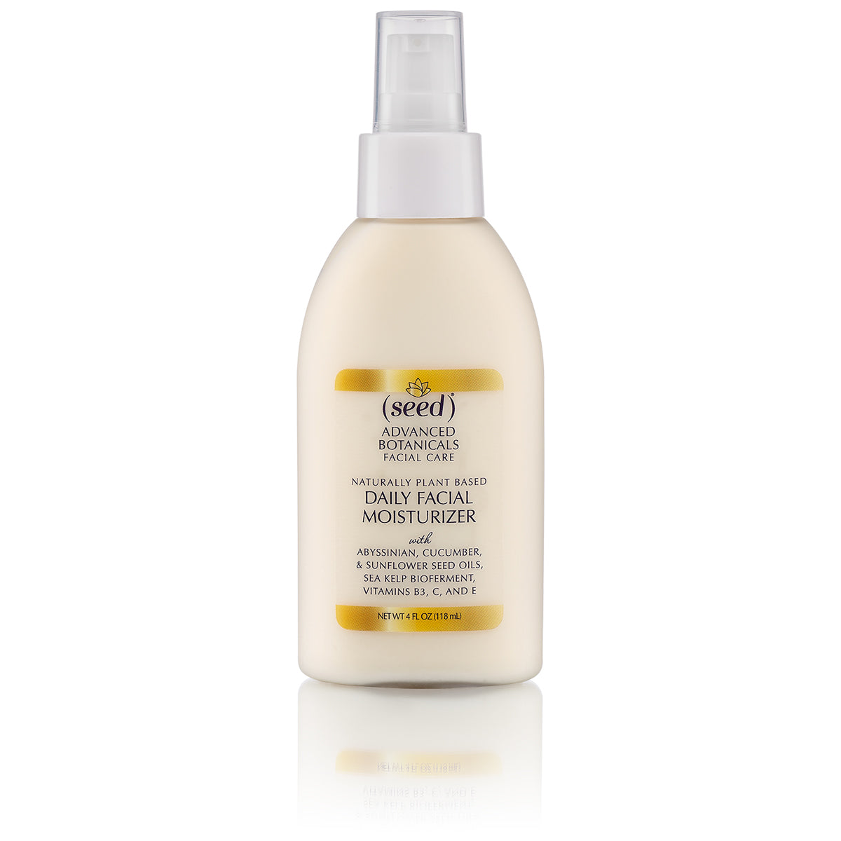 Seed Advanced Botanicals Daily Facial Moisturizing Lotion