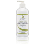 Seed Feeling Queasy Beneficial Blend Body Wash 16 oz with Lemongrass, Peppermint, and Ginger essential oils