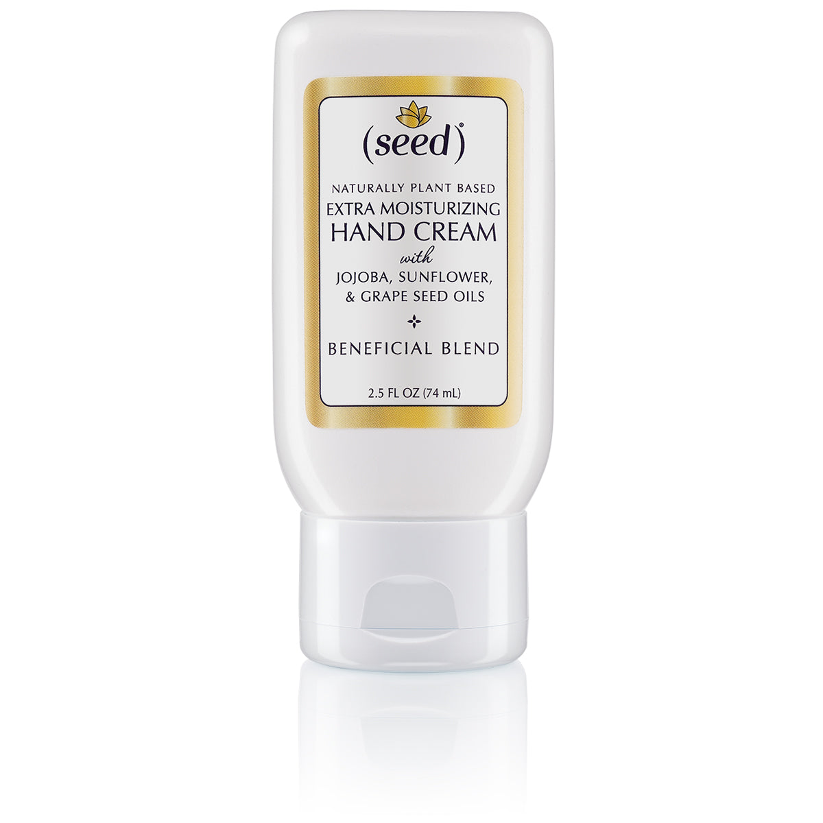 Seed Extra Moisturizing Hand Cream soothes, softens, protects, and holds up to frequent hand washing