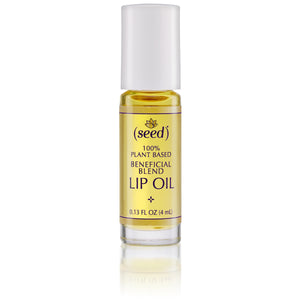 Seed Creativity Blend Lip Oil with ylang ylang and grapefruit essential oils