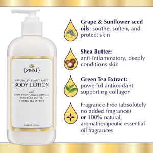 Seed Body Lotion Ingredients benefits