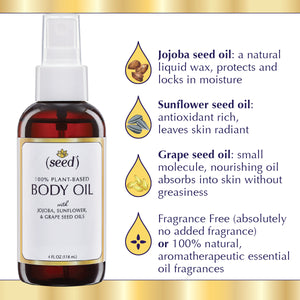 Seed Body Oil Ingredient Benefits