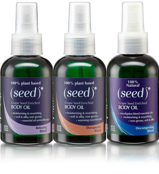 Seed Aromatherapy Body Oil Mist Collection
