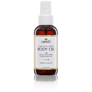 Seed Citrus Fusion Body Oil with Orange, Grapefruit, and Lemon Essential Oils