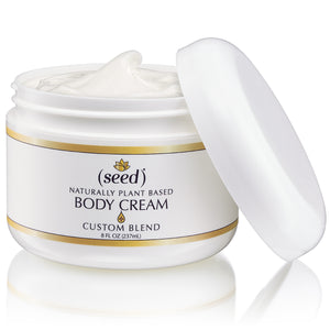 Seed Custom Blend Body Cream with your selected essential oil blend