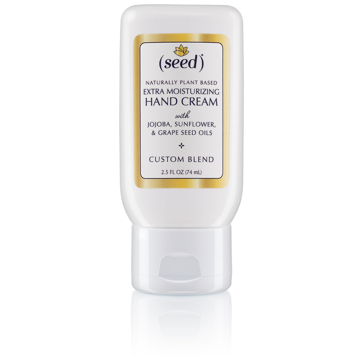 Seed Custom Blend Extra Moisturizing Hand Cream, non greasy with your favorite essential oils