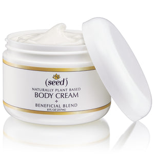 Seed Dream Land Blend Body Cream with essential oils of lemon, lavender, and ginger