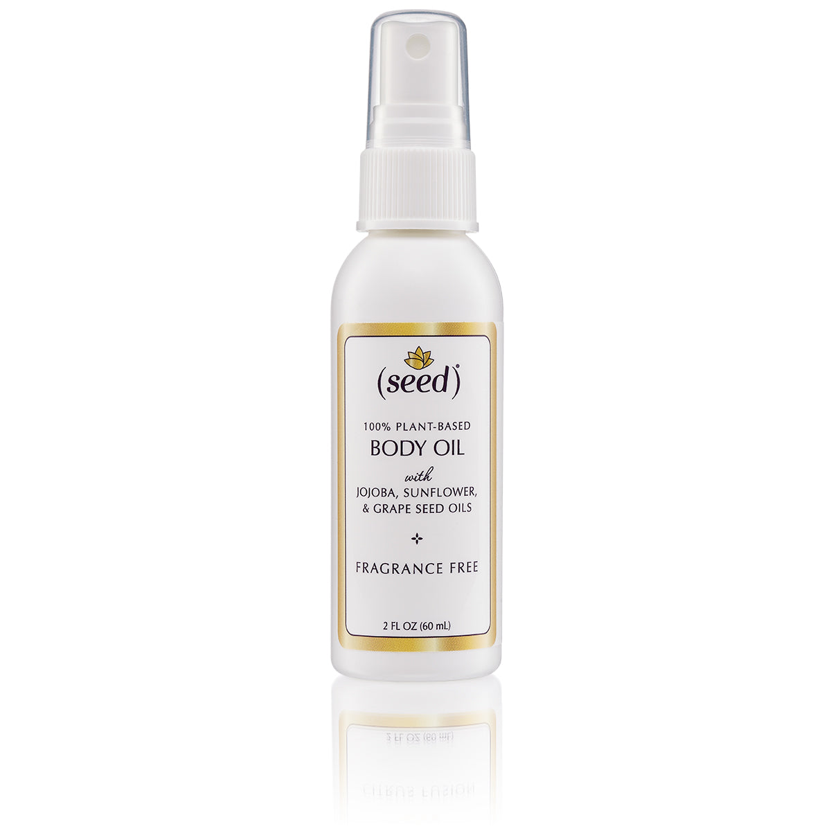 Seed Fragrance Free Body Oil is truly fragrance free