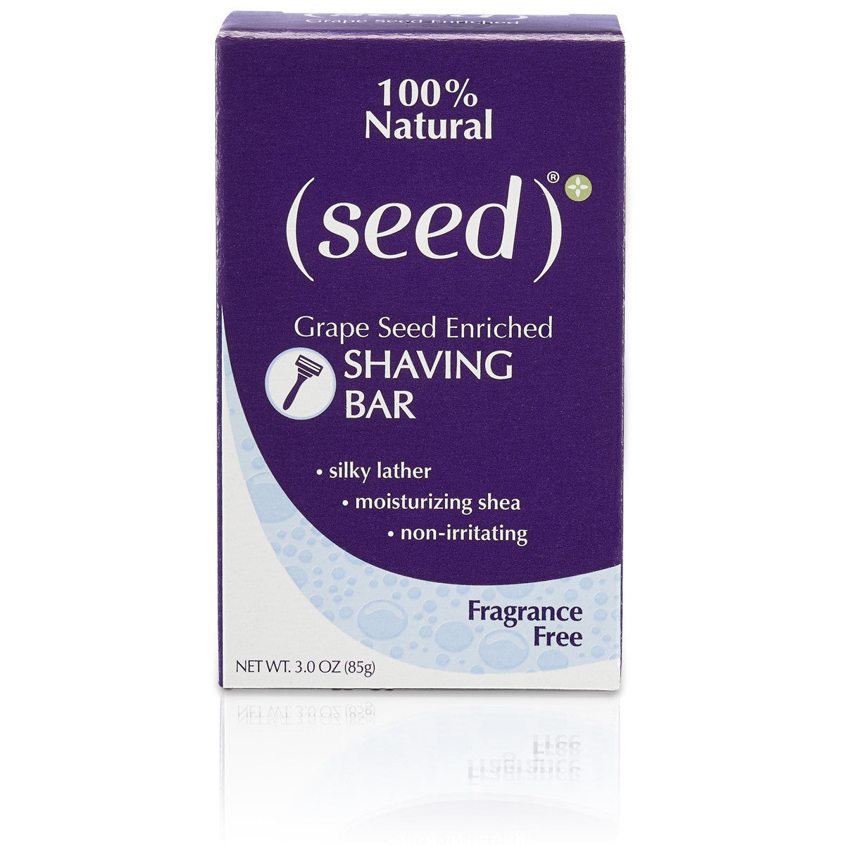 Seed Fragrance Free Shaving Bar