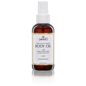 Seed Body Oil with Lemongrass Essential Oil
