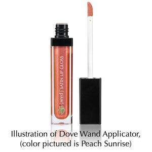 Seed Satin Lip Gloss with Dove Wand Applicator