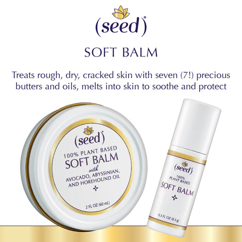 Seed Soft Balm perfect for dry hands